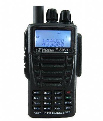 HORA F-50 VU 雙頻防水 泛宇無線電對講機