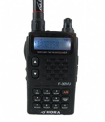 HORA F-30 V U 雙頻 泛宇無線電對講機