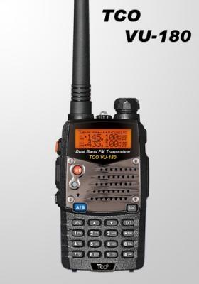 【TCO】VU-180 雙頻 泛宇無線電對講機