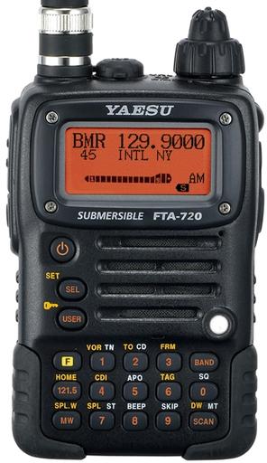 YAESU FTA-720 泛宇無線電對講機