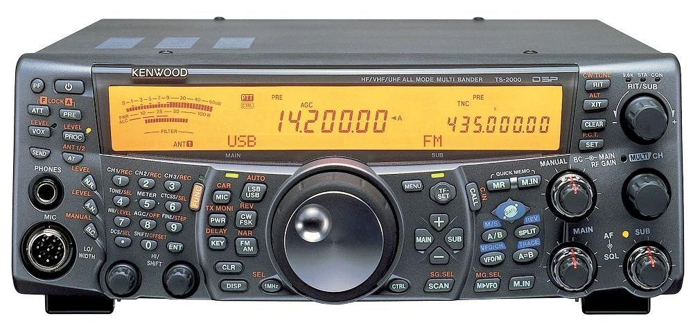 KENWOOD TS-2000 泛宇無線電對講機