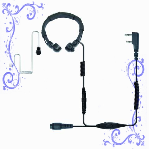 KENWOOD TK3107,TK3207對講機大喉振耳機 泛宇無線電對講機
