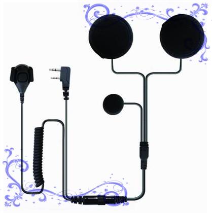 對講機頭盔式耳機 泛宇無線電對講機