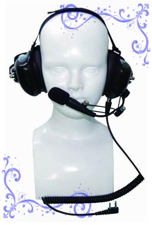 KENWOOD對講機抗噪耳機 泛宇無線電對講機